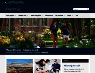 giving.case.edu screenshot