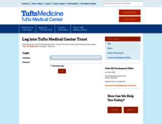 giving.tuftsmedicalcenter.org screenshot