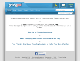 givingpal.com screenshot