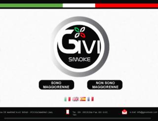 givismoke.com screenshot
