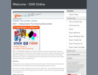 giwonline.com screenshot