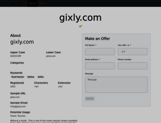 gixly.com screenshot