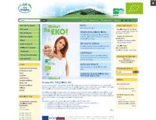 giz-ekokrepko.si screenshot