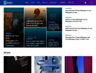 gizdev.com screenshot