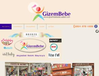 gizembebeakcaabat.com screenshot