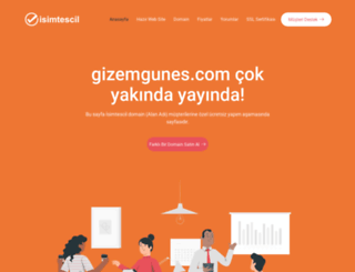 gizemgunes.com screenshot