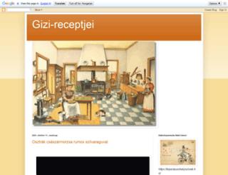 gizi-receptjei.blogspot.com screenshot