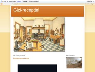 gizi-receptjei.blogspot.hu screenshot