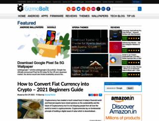 gizmobolt.com screenshot