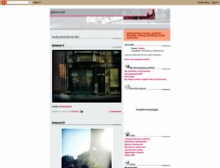 gizmonet.blogspot.nl screenshot