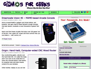 gizmosforgeeks.com screenshot