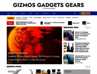 gizmosgadgetsgears.com screenshot