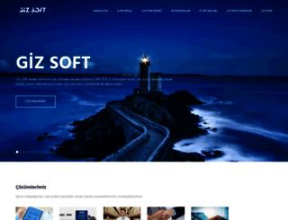 gizsoftware.com screenshot