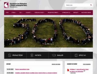 gjb-spgs.cz screenshot