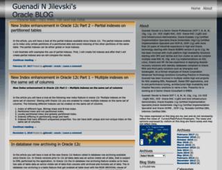 gjilevski.wordpress.com screenshot