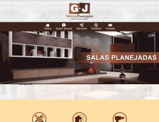 gjmoveisplanejados.com.br screenshot