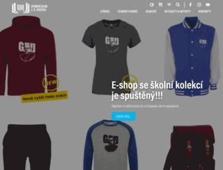 gjvj.cz screenshot