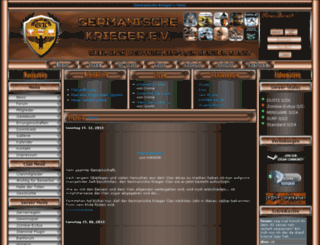 gk-clan.de screenshot