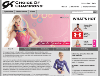 gk-elitesportswear.com screenshot
