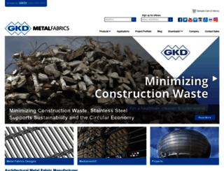 gkdmetalfabrics.com screenshot