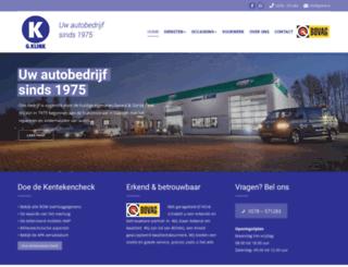 gklink.nl screenshot