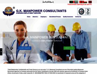 gkmanpower.com screenshot