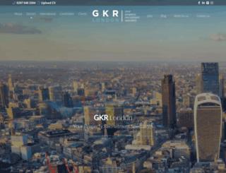 gkrlondon.com screenshot