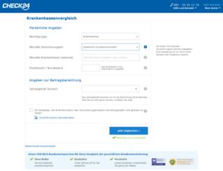 gkv.check24.de screenshot
