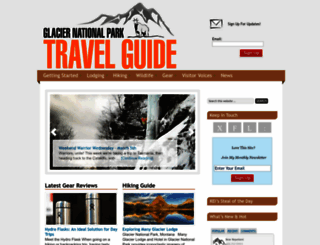 glacier-national-park-travel-guide.com screenshot