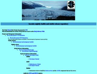 glacier.lbl.gov screenshot