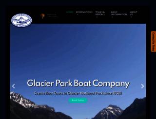 glacierparkboats.com screenshot