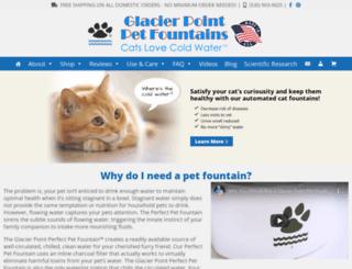 glacierpointforcats.com screenshot