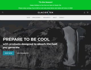 glaciertek.com screenshot