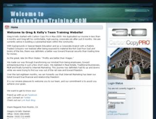 glackenteamtraining.com screenshot