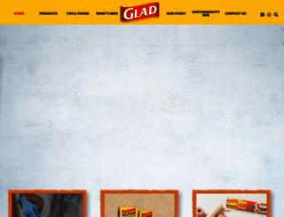 glad.com.au screenshot