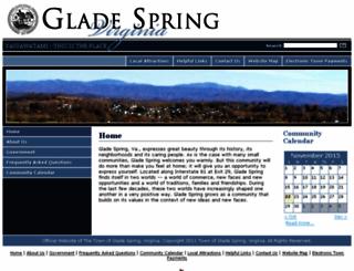 gladespringva.govoffice3.com screenshot