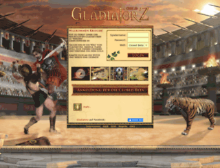 gladiatorz.eu screenshot