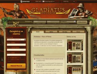 gladiatus.cz screenshot