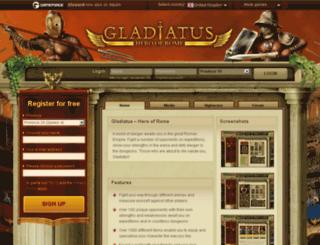 gladiatus.ir screenshot