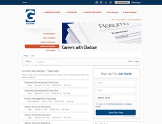 gladson.applicantpro.com screenshot
