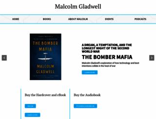 gladwell.com screenshot
