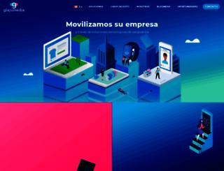 glajumedia.com screenshot