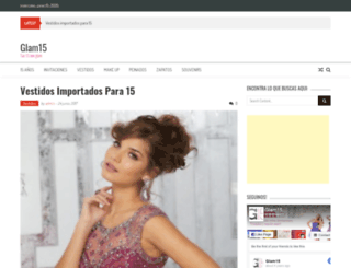 glam15.com screenshot