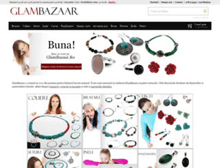 glambazaar.ro screenshot