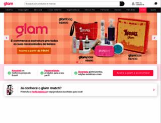 glambox.com.br screenshot