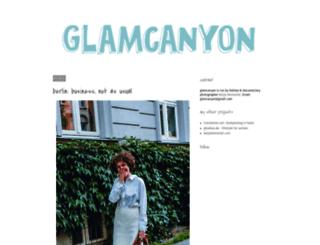 glamcanyon.blogspot.de screenshot