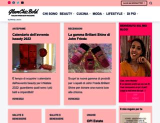 glamchicbold.com screenshot