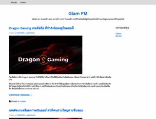 glamfm.net screenshot