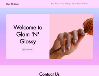 glamnglossy.co.uk screenshot
