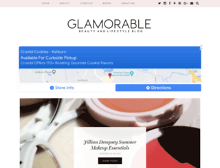 glamorable.blogspot.com screenshot